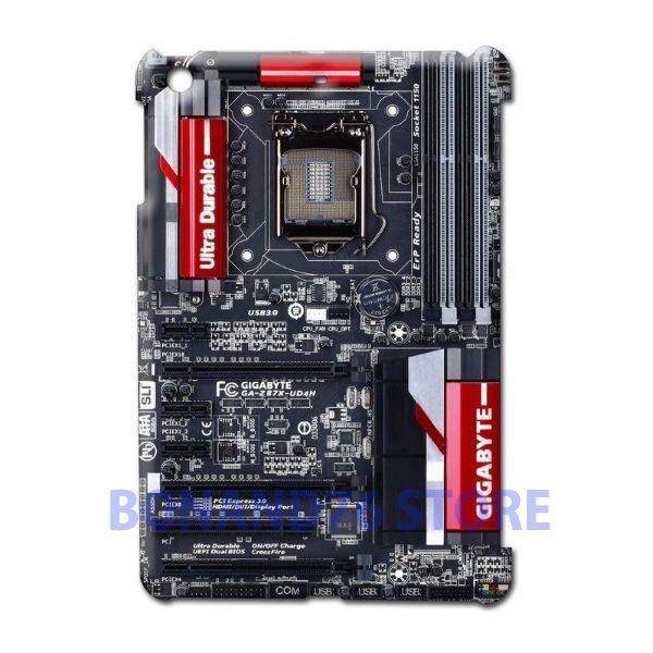 Ipad 2 / Ipad Mini 2 Back Case Gygabite Customize Design Gaming Board Circuit #Generic