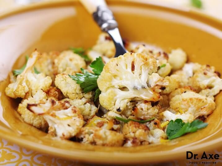 Lemon Roasted Cauliflower