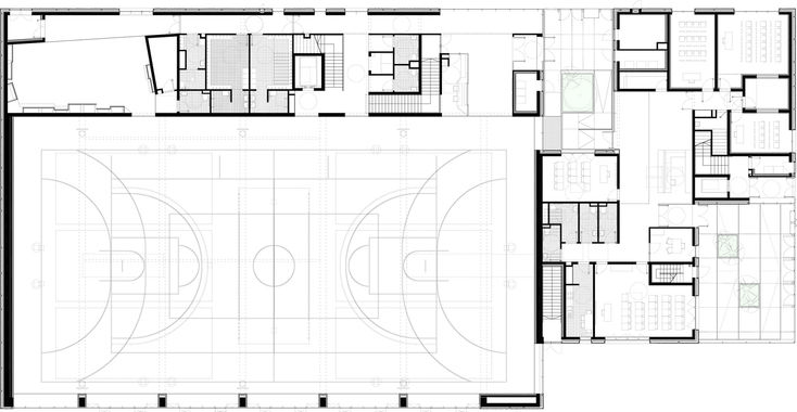 53 best church design floor plan images on pinterest for Multi purpose building plans