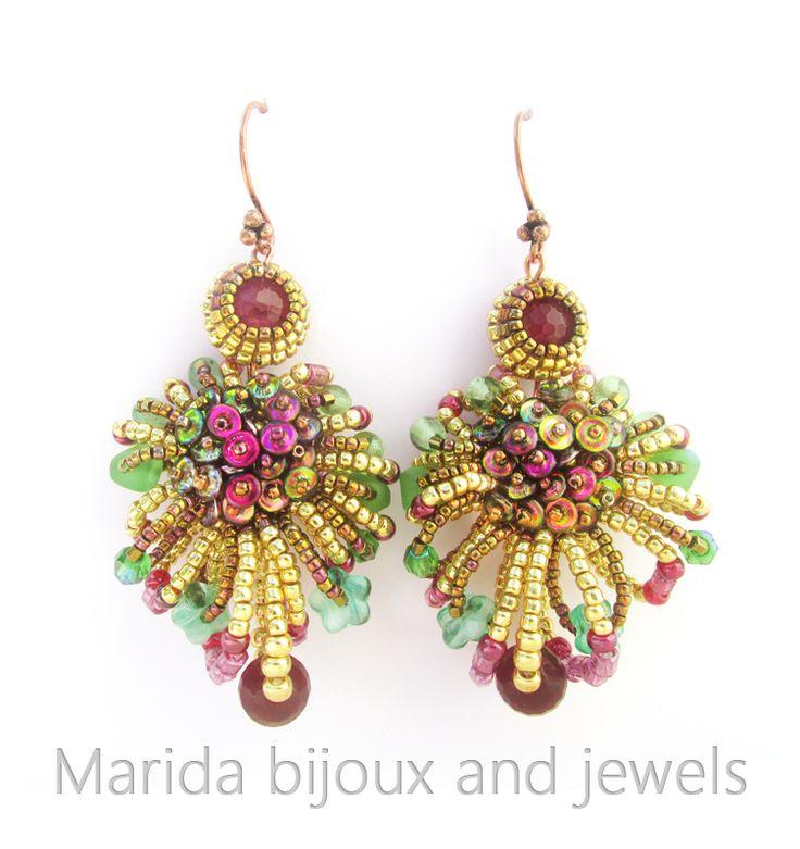 """""""Frutti di Bosco"""" earrings/orecchini postati da """"Vogue Accessory"""" sulla propria pagina Facebook"""