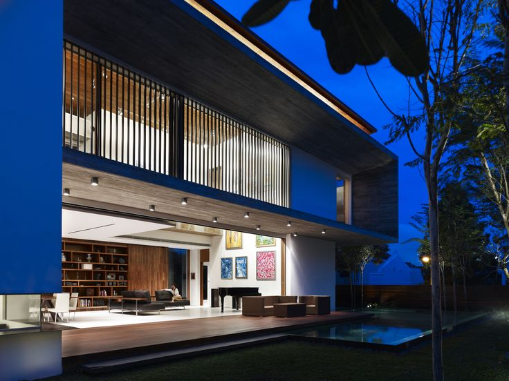 M house ong ong architects · modern house designcontemporary houses singaporeproduct