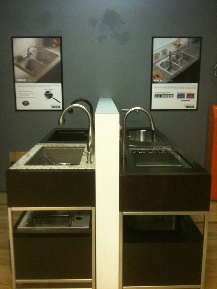 Kitchen Sinks Denver : ... Our Denver Showroom on Pinterest Toilets, Stone sink and Faucets