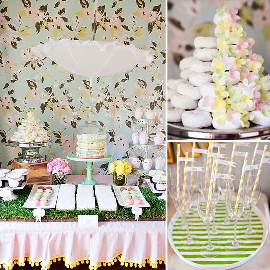 A Springtime Sprinkle Shower Baby Shower Ideas Baby Shower