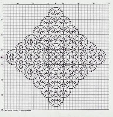 Byrd's Nest: Blackwork Smalls - Lots of free patterns