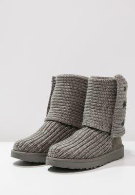 Bestill UGG CLASSIC CARDY - Støvler - grey for kr 1495,00 (05.12.16) med gratis frakt på Zalando.no