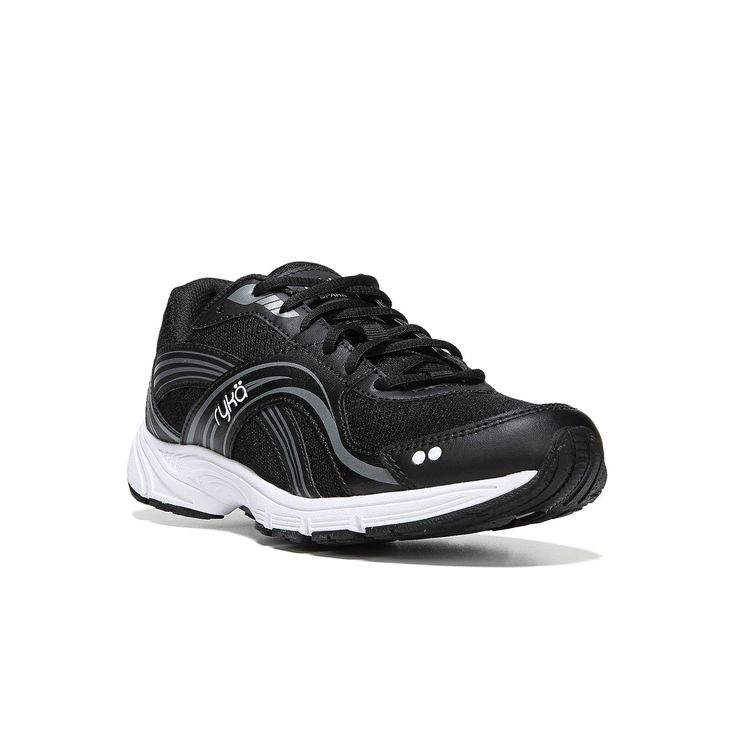 Ryka Spark Women's Walking Shoes, Size: medium (8.5), Black