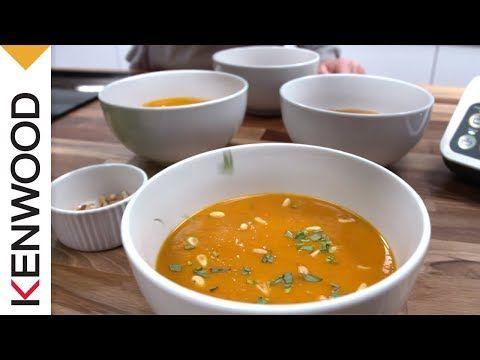 Recette de la Soupe de Carotte et Chorizo avec le robot cuiseur kCook Multi de Kenwood. - YouTube