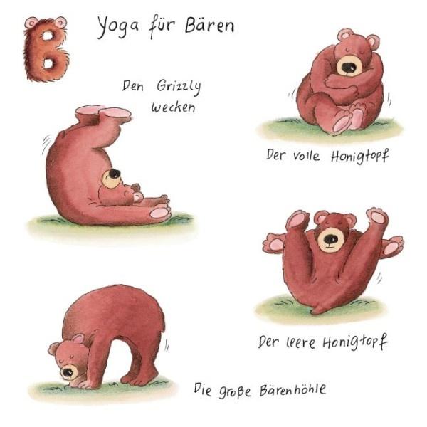 Yoga für Bären