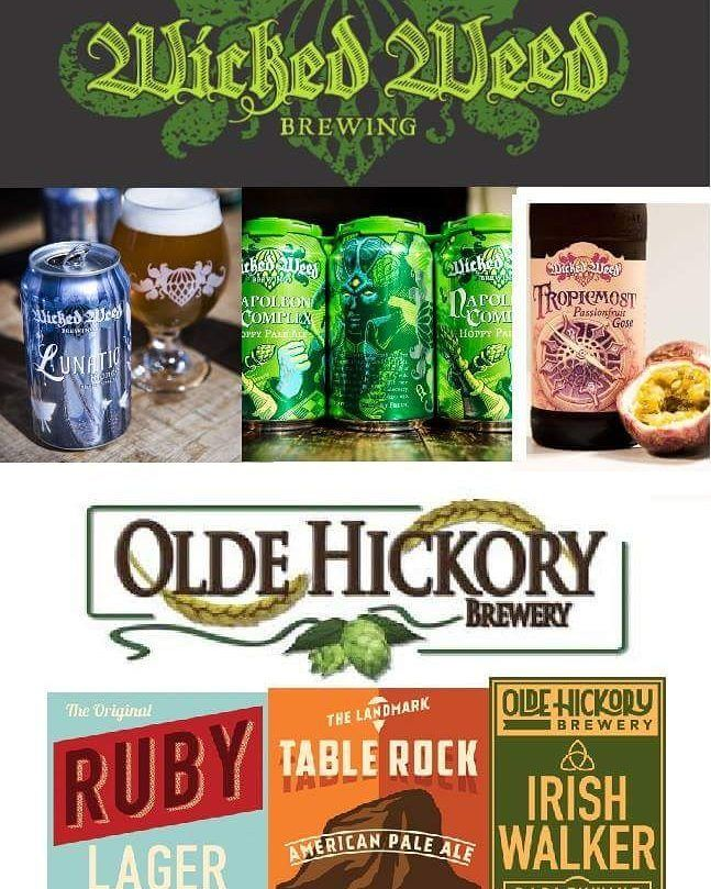 Weekly Free Beer Tasting Tuesday Night From 5-8!!! 6 Selections From Wicked Weed Asheville NC and Old Hickory Brewery Hickory NC. Includes a Complimentary Appetizer Chosen by Our Executive Chef Sanchez. Come in Because What is Better than Free Beer!?!? Here is the Lineup!  Wicked Weed  Lunatic Blonde Belgian Style Ale  Napoleon Complex Hoppy Pale Ale  TropicMost Passionfruit Gose  Old Hickory  Ruby Lager  Table Rock Pilsner  Irish Walker English Barley Wine #ilmbeer #ilmcrafytbeer