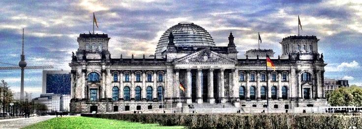 Berlin. April 2013 Bundestag