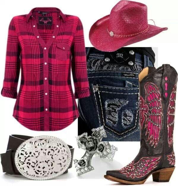 Pink Western Wear ❤️❤️❤️❤️