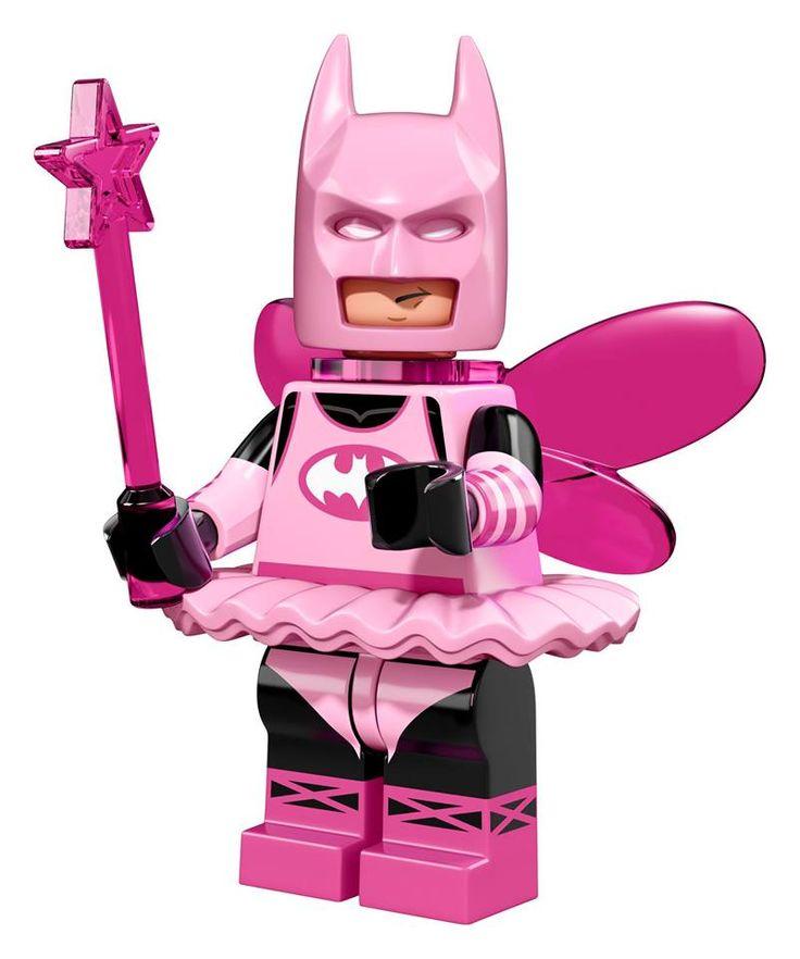 NEW LEGO Minifigure collectable series announced - The LEGO Batman Movie  - Fairy Batman