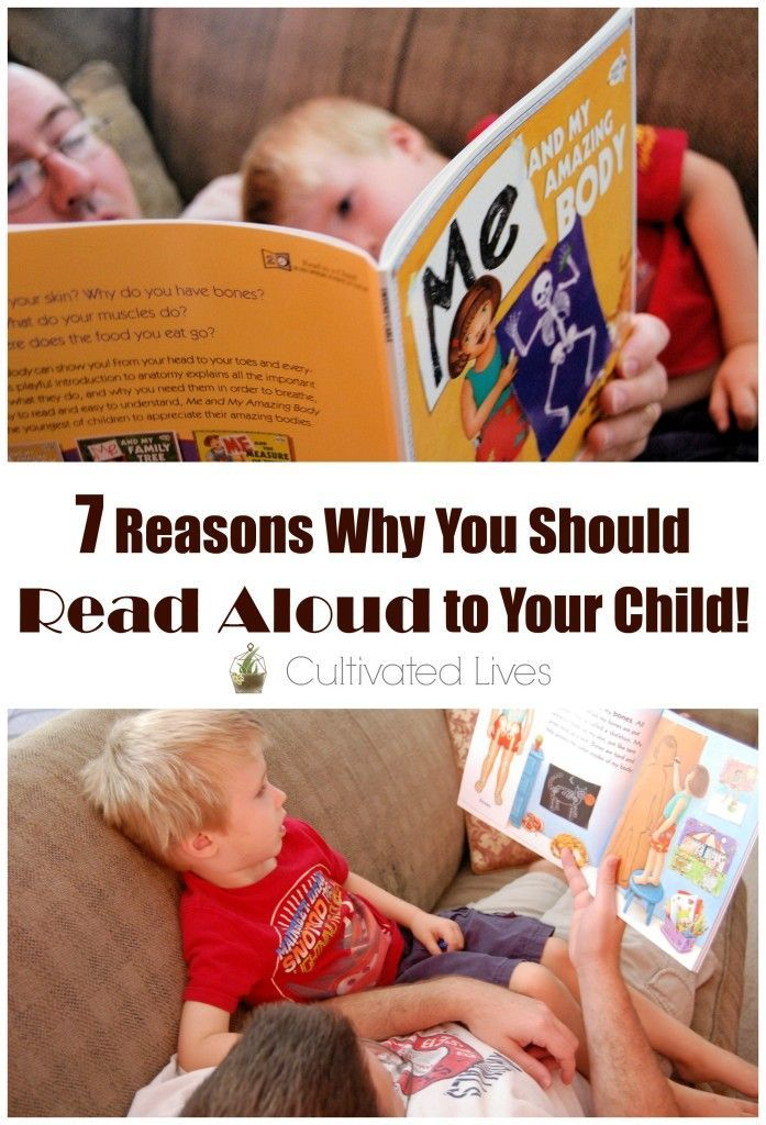 Fresh reminders of why it is so vitally important that we read-aloud to our kids!