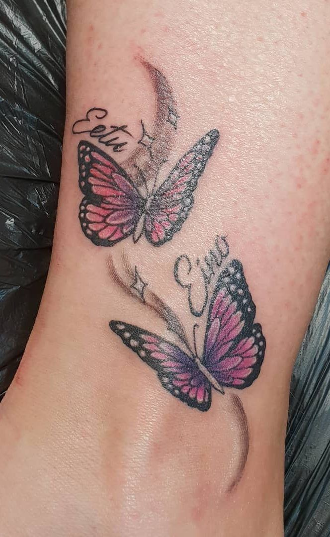46 Beautiful And Cute Butterfly Tattoo Designs To Get That Charm 2019 Page 35 Of 42 Tattoo Go Butterfly Tattoo Designs Butterfly Tattoo Butterfly Hand Tattoo