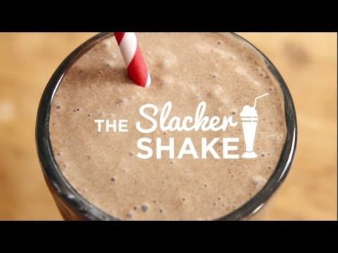 The Slacker Shake -  a.k.a Best Milkshake Recipe EVER.