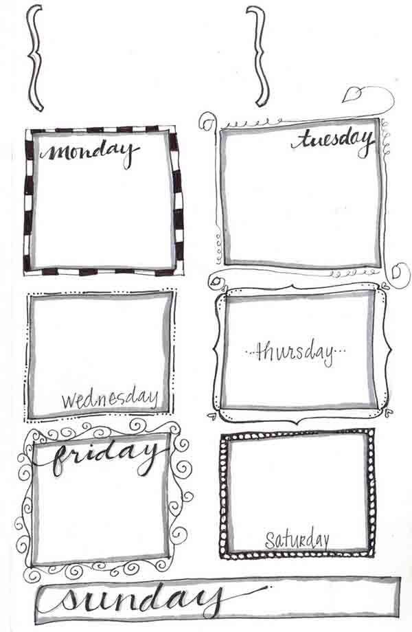 Free Planner Printables | Heart Handmade uk | Bloglovin'