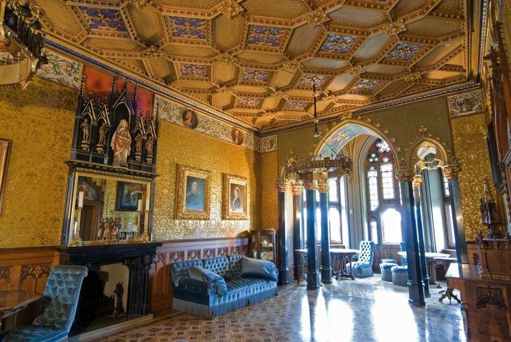Burg Hohenzollern.  --   Blauer Salon der Königin.