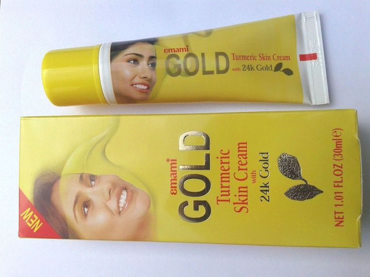 Hot item! 52 sold!! Emami GOLD Turmeric Skin Lightening Cream 30ml 24k Gold Natural Herb Extracts #Emami