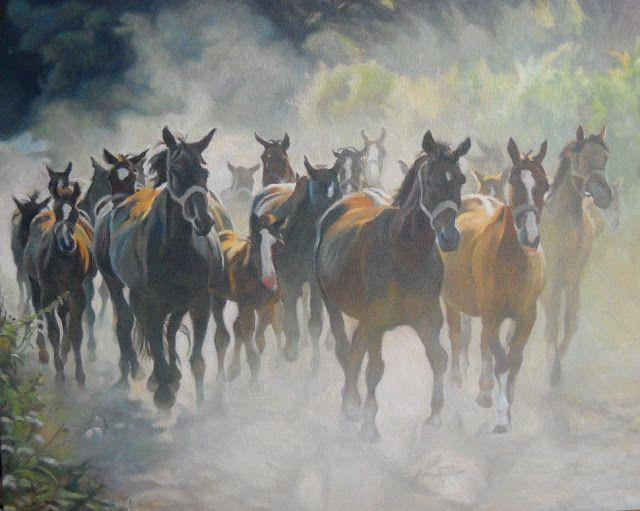 Anna Wypych: tabun koni