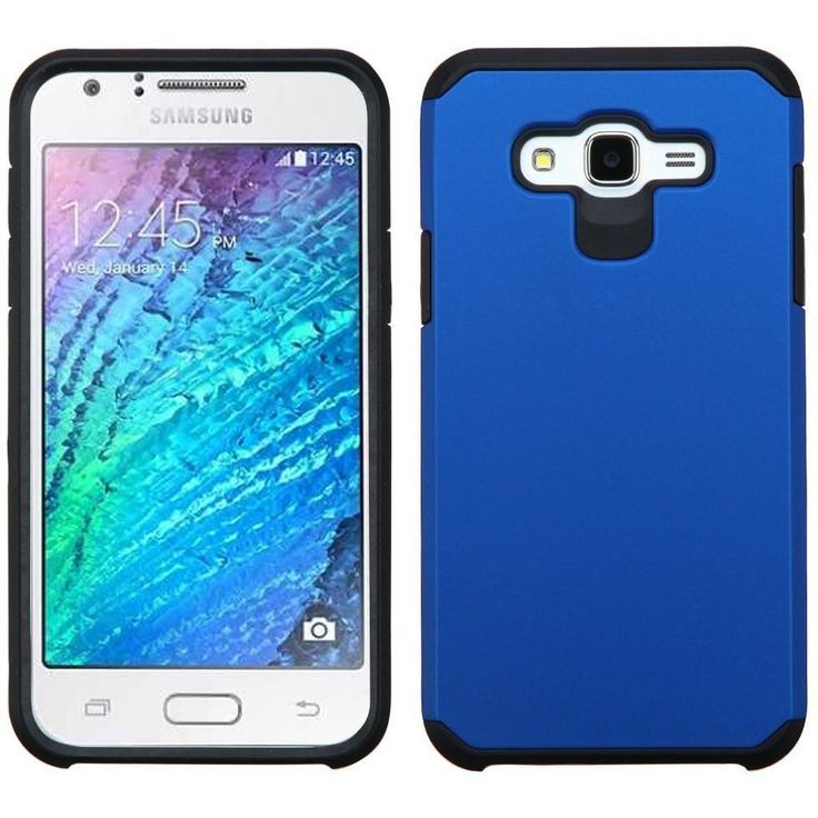 MYBAT Neo Astronoot Samsung Galaxy J7 (2015) Case - Blue/Black