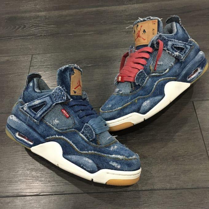 Creative flips on Jordan Brand's popular collaboration with Levi's ...