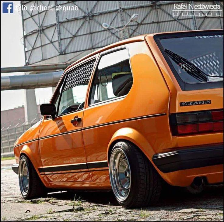 Golf. Volkswagen Golf Mk1Slammed CarsVw ...