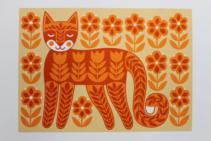 karoline made this: Tale of the Folk Tail Cat