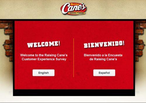 Raising Cane's Customer Satisfaction Survey, www.raisingcanes.com/survey