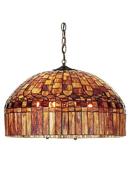 This Tiffany Gothic pendant ceiling fixture will make a stunning addition to your home.