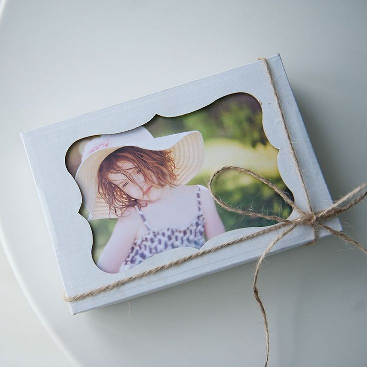 Photo box with the window #photobox #photo box #box with the window #box for prints #prints