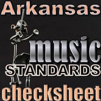 Arkansas New Music Standards Check sheet K-4 #music #musicteacher #elementarymusic #teaching #musicteacher #classical #classicalmusic #musicforkids #arkansasmusic #lessonplans #elementarymusiclesson #standards #musicstandards #todolistformusicteachers #arkansasmusicstandards