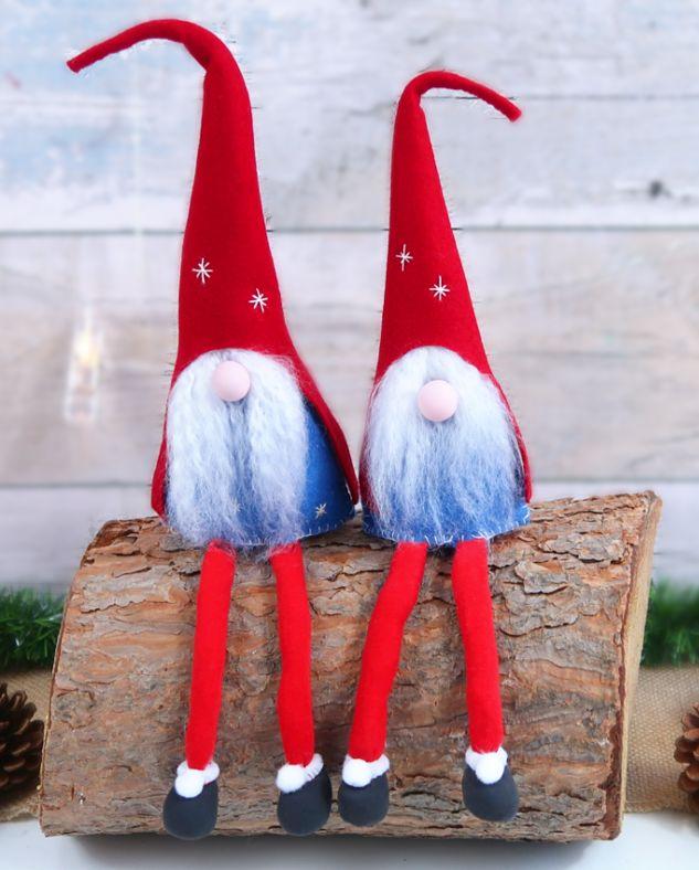 Manualidades para decorar en Navidad, como hacer duendes o Elfos de Santa Claus | El Mundo de Isa