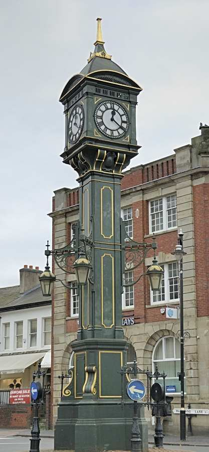 Chamberlain Clock, Jewellery Quarter, Birmingham