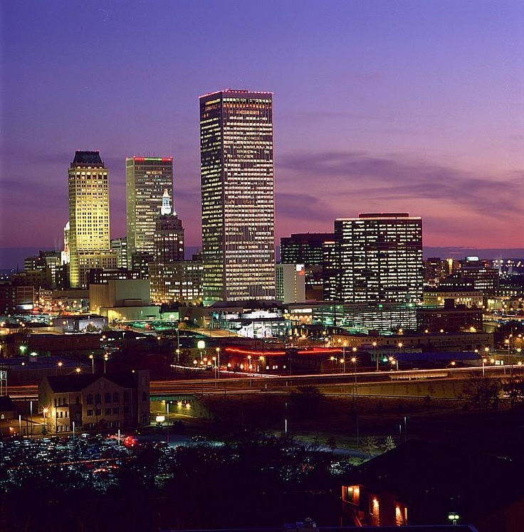 Tulsa, Oklahoma   I lived here for a little while... before this Sand Springs Oklahoma.. just next door to Tulsa!!