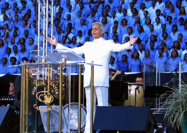 Evangelist Benny Hinn's son arrested in Brazil for 'beating up deaf and dumb man during one of his father's events'  - http://dailyatheistquote.com/atheist-quotes/2013/02/23/evangelist-benny-hinns-son-arrested-in-brazil-for-beating-up-deaf-and-dumb-man-during-one-of-his-fathers-events/