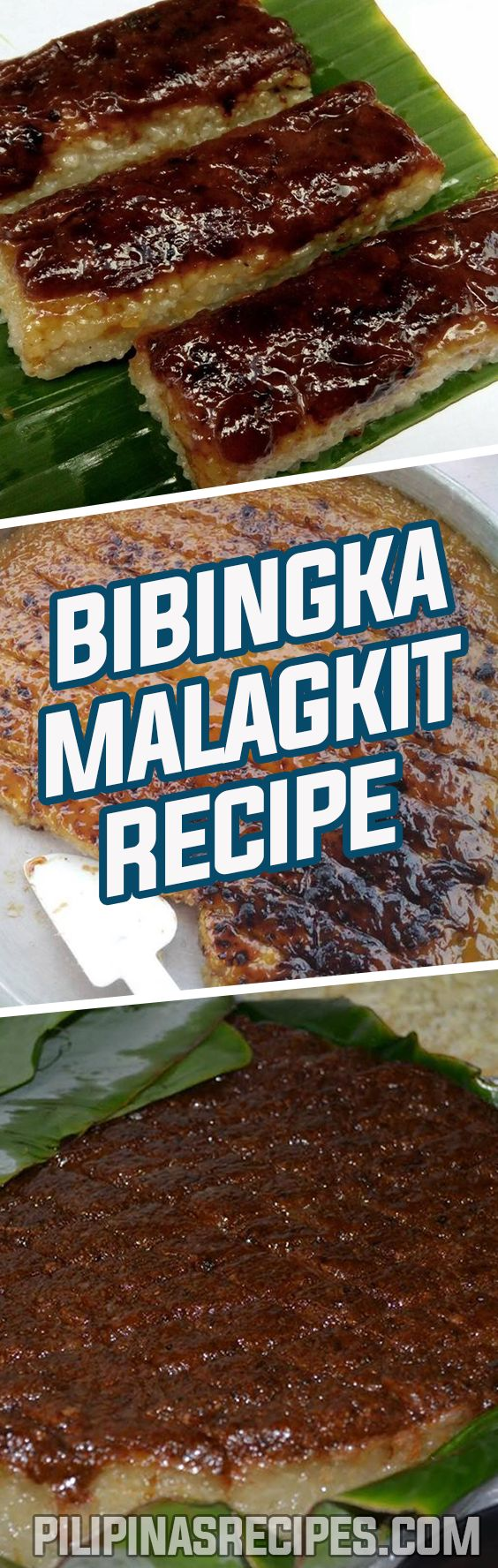 This Bibingka Malagkit Recipe is a type of Filipino Sweet Cake made of Glutinous Rice and commonly be seen near Churches during Simbang Gabi.
