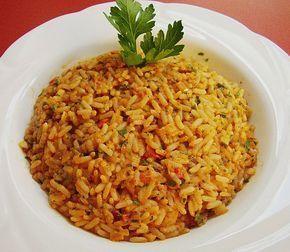 Griechischer Tomatenreis, ein gutes Rezept aus der Kategorie Vegetarisch. Bewertungen: 340. Durchschnitt: Ø 4,4.