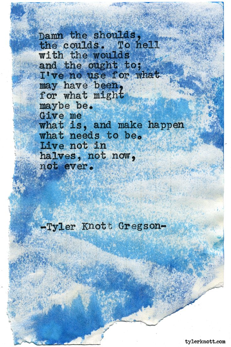 Typewriter Series #1567 by Tyler Knott Gregson Chasers of the Light & All The Words Are Yours are Out Now!
