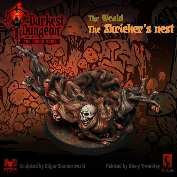 The Weald The Shrieker S Nest A Darkest Dungeon Board Games Dungeon