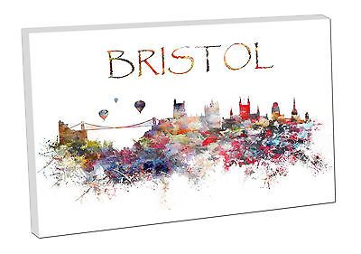 #1541603 #print on canvas city skyline art landmarks #bristol england, View more on the LINK: http://www.zeppy.io/product/gb/2/401109068250/