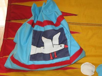 baby bag for clothing of sleep