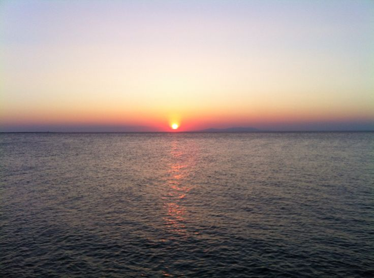 Sunset as seen from Paliapoli