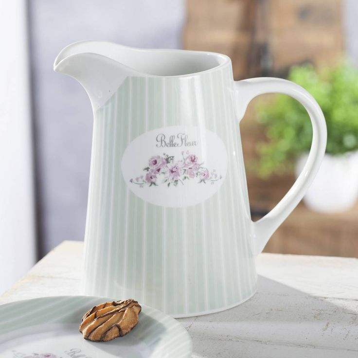 #prezent #gift #mama #mother #celebration Dzbanek Belle Fleur 1,5l, 22x14,5x20,5cm - Dekoria