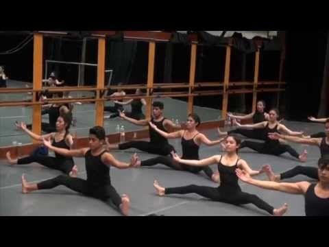 Técnica de Danza Contemporánea Graham 1º Año - YouTube