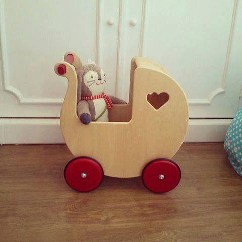 Vintage wood toys for girls