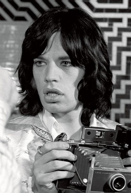 Jagger // Shooting Film: Celebrities with Polaroid In Hand