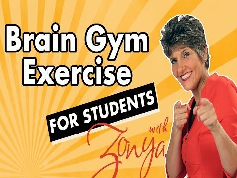 Brain Gym Exercise for Students - YouTube