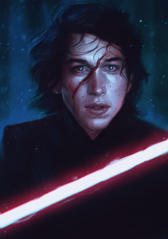 Kylo Ren--I'm not even sorry about how many pictures of him I'm pinning...he's SUCH a great character! So complicated....and there IS still light in him...