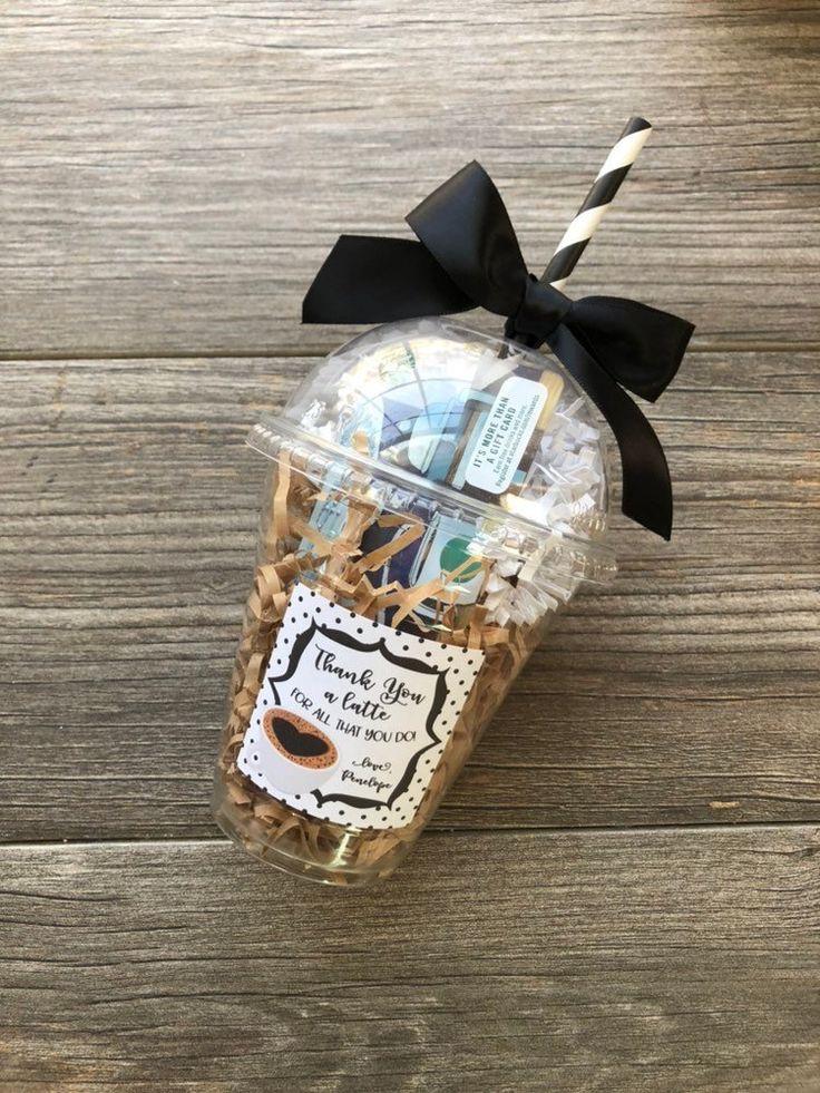 Christmas Coffee Gift Card Holders Teacher holiday gift