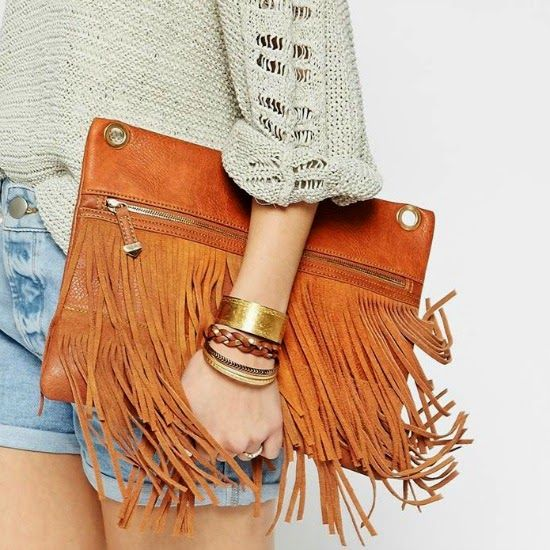 ASSHLYOFFICIAL: YAS OR NAH: FRINGED BAGS